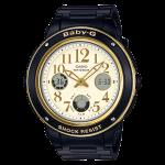นาฬิกา Casio Baby-G Elegantly Feminine color series รุ่น BGA-151EF-1B (ดำทอง) ของแท้ รับประกัน1ปี