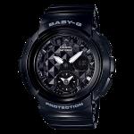 นาฬิกา Casio Baby-G BGA-195 Studs Dial series รุ่น BGA-195-1A ของแท้ รับประกัน1ปี
