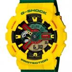 นาฬิกา คาสิโอ Casio G-Shock Limited model รุ่น GA-110RF-9A ราสต้า