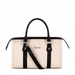 กระเป๋าบาร์เรลแฮร์รอดส์สีทูโทนของแท้ Novello Two-Tone Barrel Bag