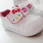 รองเท้าผ้าใบ Hello kitty แท้สีขาว Sh02