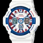 """นาฬิกา Casio G-Shock Limited White Tricolor series รุ่น GA-201TR-7A """"กันดั้ม"""" ของแท้ รับประกัน1ปี"""