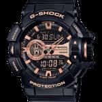 นาฬิกา Casio G-Shock Limited Garish Black & Gold Series รุ่น GA-400GB-1A4 สีดำพิ้งค์โกลด์ ของแท้ รับประกัน1ปี