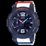 นาฬิกา คาสิโอ Casio Baby-G Standard ANALOG-DIGITAL รุ่น BGA-180-2B2 ของแท้ รับประกัน1ปี
