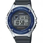 นาฬิกา Casio STANDARD DIGITAL รุ่น W-216H-2AV ของแท้ รับประกัน 1 ปี