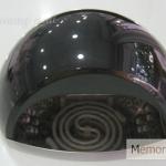 เครื่องอบเจล LED/UV ทรงครึ่งวงกลม สีดำ