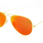 แว่นกันแดด Ray Ban Aviator RB3025 112/69 Crystal Orange Mirror Lens