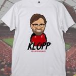เสื้อยืด เจอร์เก้น คล็อปป์ KLOPP-LFC008 คอกลม (สี ขาว, เทา)