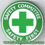 เข็มกลัด Safety Committee - Safety First