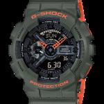 นาฬิกา Casio G-Shock GA-110LN Layered Neon colors series รุ่น GA-110LN-3A ของแท้ รับประกัน1ปี