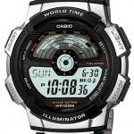 นาฬิกา คาสิโอ Casio 10 YEAR BATTERY รุ่น AE-1100WD-1A