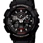 นาฬิกา คาสิโอ Casio G-Shock Limited model Military Cloth Series รุ่น GA-100MC-1A