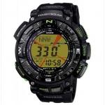 นาฬิกา คาสิโอ Casio PRO TREK DUAL-LAYER LCD รุ่น PRG-240-1BER ของแท้ รับประกัน 1 ปี หายากมาก