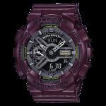 นาฬิกา คาสิโอ Casio G-Shock S-Series Metalic Colors รุ่น GMA-S110MC-6A (สี Burgundy) ของแท้ รับประกัน1ปี