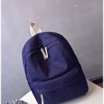 [สีน้ำเงินกรม] กระเป๋าเป้สะพายหลัง Z940-6