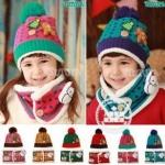 หมวก+ผ้าพันคอ CH63-70