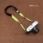 สายคล้องกล้องลดแรงกดคอ ไม่ปวดคอ ไม่ปวดไหล่ สีเขียวสว่าง
