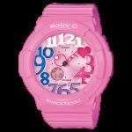 นาฬิกา คาสิโอ Casio Baby-G Neon Illuminator สี POP COLOR รุ่น BGA-131-4B3 สีชมพูนม