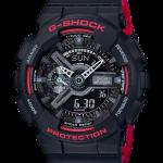 นาฬิกา Casio G-Shock Black & Red (HR) series รุ่น GA-110HR-1A ของแท้ รับประกัน1ปี