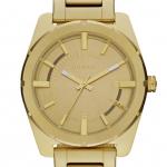 นาฬิกาข้อมือ ดีเซล Diesel Stainless Steel Gold Dial Quartz Men's Watch รุ่น DZ5345