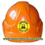 สติ้กเกอร์ติดหมวกโฟร์คลิฟต์ Certified Forklift Driver