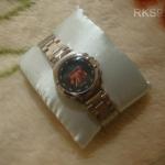 นาฬิกาข้อมือลิเวอร์พูล (หญิง) หน้าปัดดำ