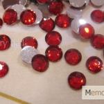 เพชรธรรมดา สีแดง ขนาด 4 มิล
