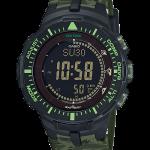 นาฬิกา คาสิโอ Casio PRO TREK รุ่น PRG-300CM-3 ลายพรางเขียว