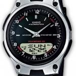 นาฬิกา คาสิโอ Casio 10 YEAR BATTERY รุ่น AW-80-1A