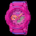 นาฬิกา Casio Baby-G BGA-185FS Vivid Fashion color series รุ่น BGA-185FS-4A ของแท้ รับประกัน1ปี