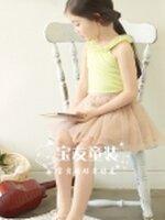 เสื้อกล้ามเด็กหญิง KK356