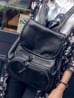 [สีดำ] กระเป๋าสะพายหลัง | กระเป๋าเป้ผู้ชาย | กระเป๋าวัยรุ่น| กระเป๋าสะพายหลังผู้หญิง แฟชั่นยอดฮิต