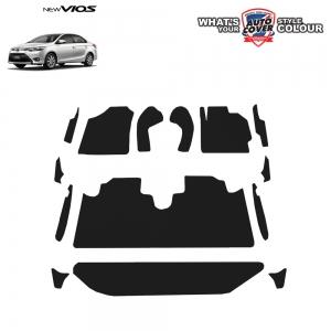 พรมกระดุม Super Save รถ Toyota Vios ปี 14-19 ชุด Full จำนวน 14 ชิ้น