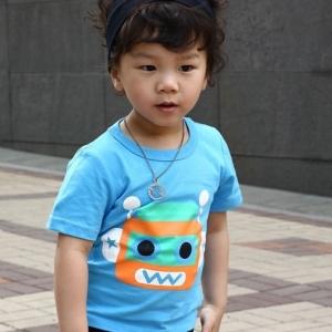 เสื้อยืดเด็กแขนสั้น kk50-47