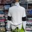 เสื้อคลุม แขนยาว ผ้าฝ้าย แต่งแถบ สีขาว (มีภาพจริง) thumbnail 3