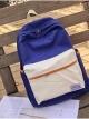 กระเป๋าเป้สะพายหลังกันน้ำ Z1012 สีน้ำเงิน