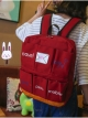 กระเป๋าเป้สะพายหลังกันน้ำ Z1011 สีแดง