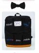 กระเป๋าเป้สะพายหลังกันน้ำ Z1011 สีดำ