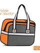 กระเป๋า2มิติ กระเป๋า3D แฟชั่นเกาหลี [รหัส3D026-2]