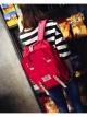 กระเป๋าเป้สะพายหลังกันน้ำ Z1007 สีชมพูเข้ม