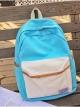 กระเป๋าเป้สะพายหลังกันน้ำ Z1012 สีฟ้า