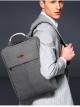 กระเป๋าเป้ใส่โน๊ตบุ๊ค 15-17นิ้ว Z1006 สีเทา