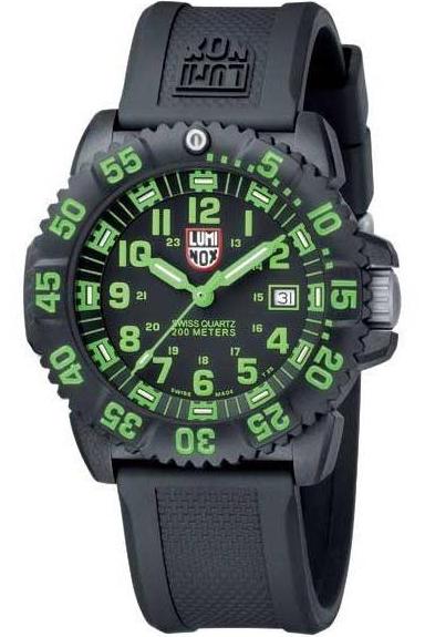 นาฬิกา Luminox รุ่น LUMINOX 3067 EVO Navy SEAL Dive Watch Colormark (green)