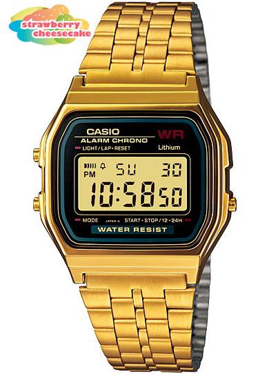 นาฬิกา คาสิโอ Casio STANDARD DIGITAL รุ่น A-159WGEA-1D