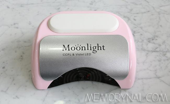 เครื่องอบเจลหลอดผสม LED/UV 48 วัตถ์ Moonlight
