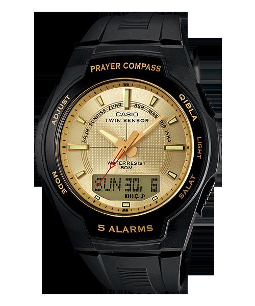 นาฬิกา คาสิโอ Casio ISLAMIC เข็มทิศสำหรับการละหมาด รุ่น CPW-500H-9AV
