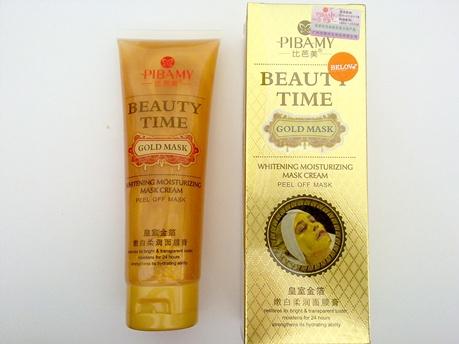 Pibamy-beauty time Gold mask 130g.