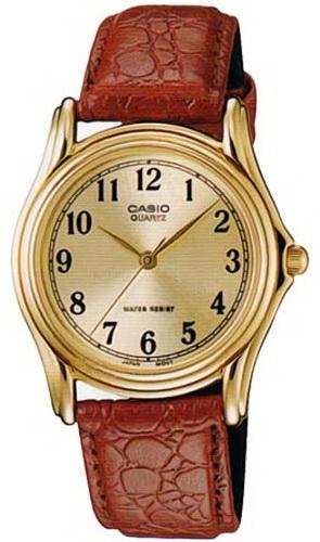 นาฬิกา คาสิโอ Casio Analog'men รุ่น MTP-1096Q-9B1