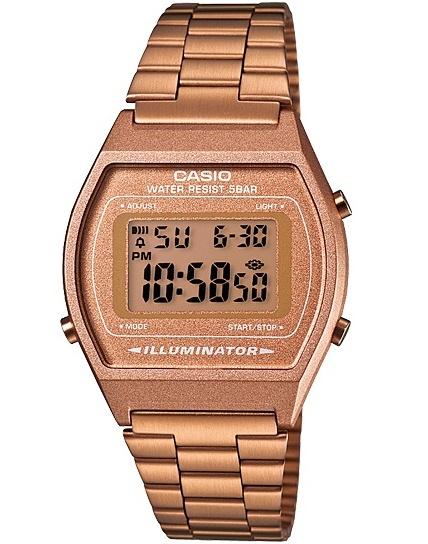 นาฬิกา คาสิโอ Casio STANDARD DIGITAL Classic ROSE GOLD Tone รุ่น B640WC-5AEF
