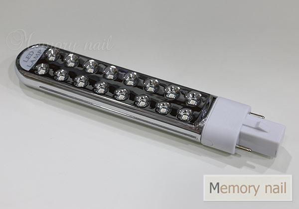 หลอดไฟ LED ขนาด 5 วัตร์ สำหรับใส่เครื่องอบเจล UV
